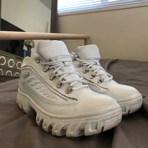 LUGZ Classic White Dad Shoes from the Nineties